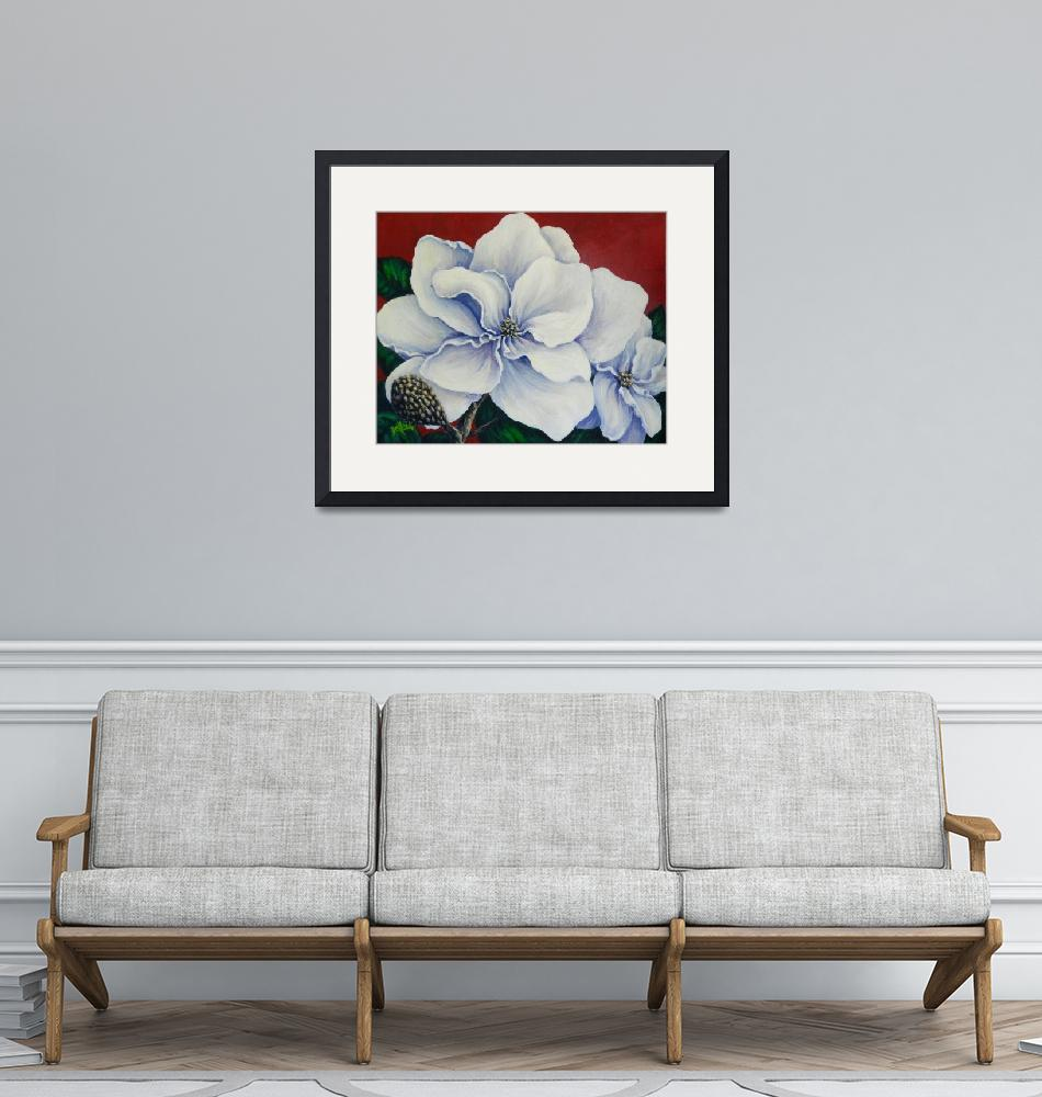"""Southern Magnolias""  (2009) by DCHeslin"