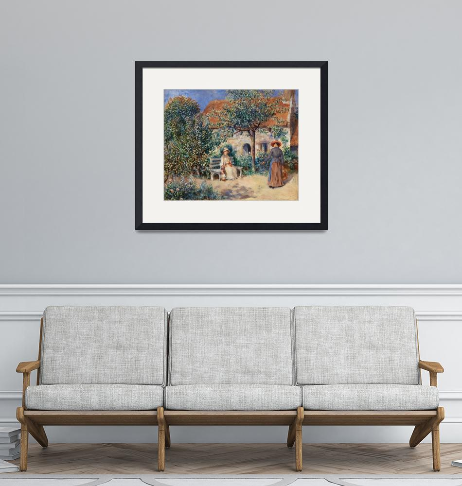 """In Brittany by Renoir""  by FineArtClassics"