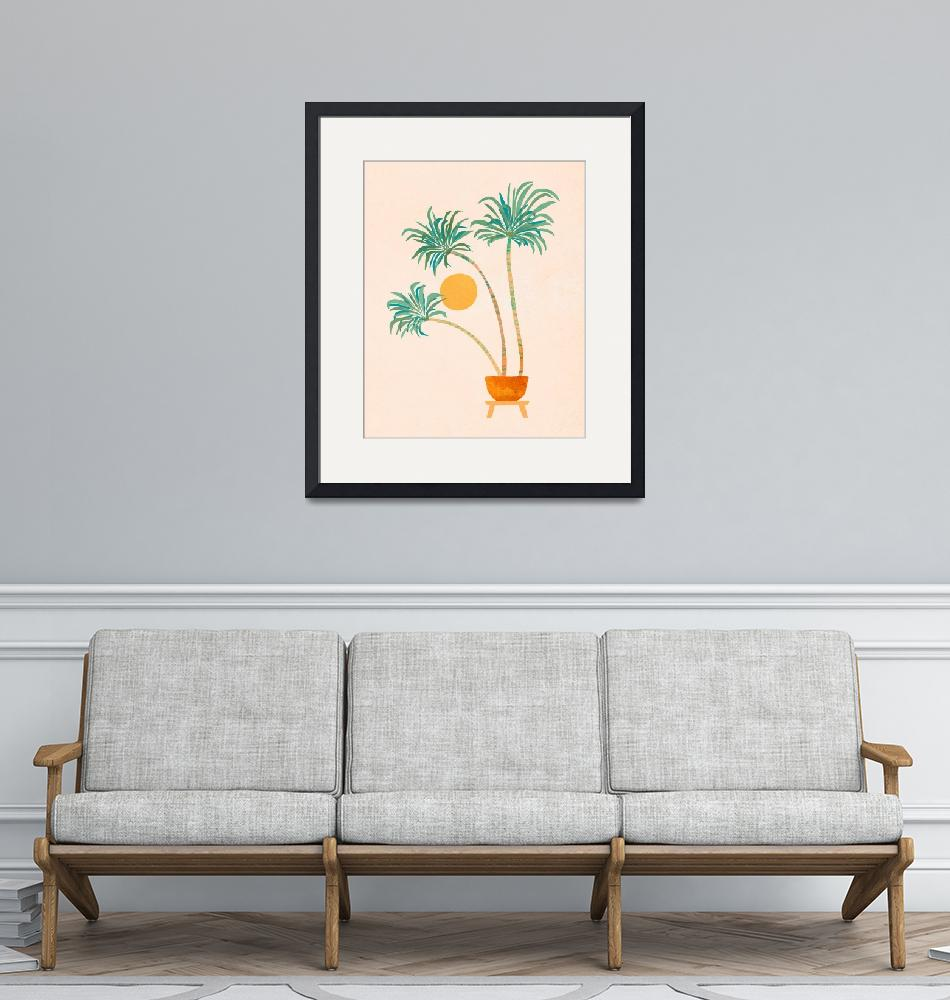 """SoCal Palms"" (2020) by moderntropical"