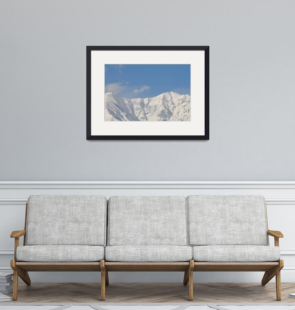 """Wasatch Mountains, Utah Winter 13t""  (2011) by brucet"