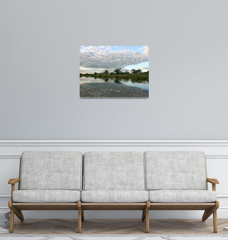 """""""River Reflections""""  by KarenZukRosenblatt"""