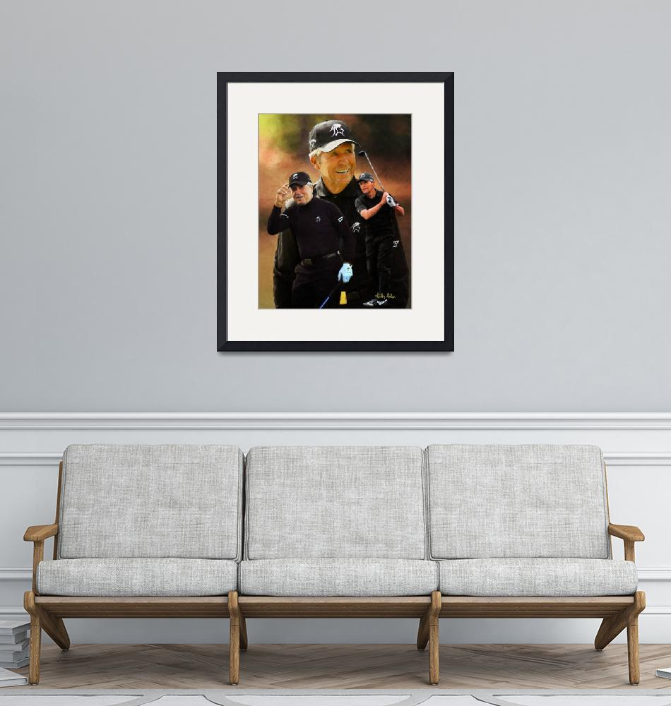 """""""Gary Player ART 2510 ORIGINAL AIP AM3_ARCHIVE""""  by Richimage"""