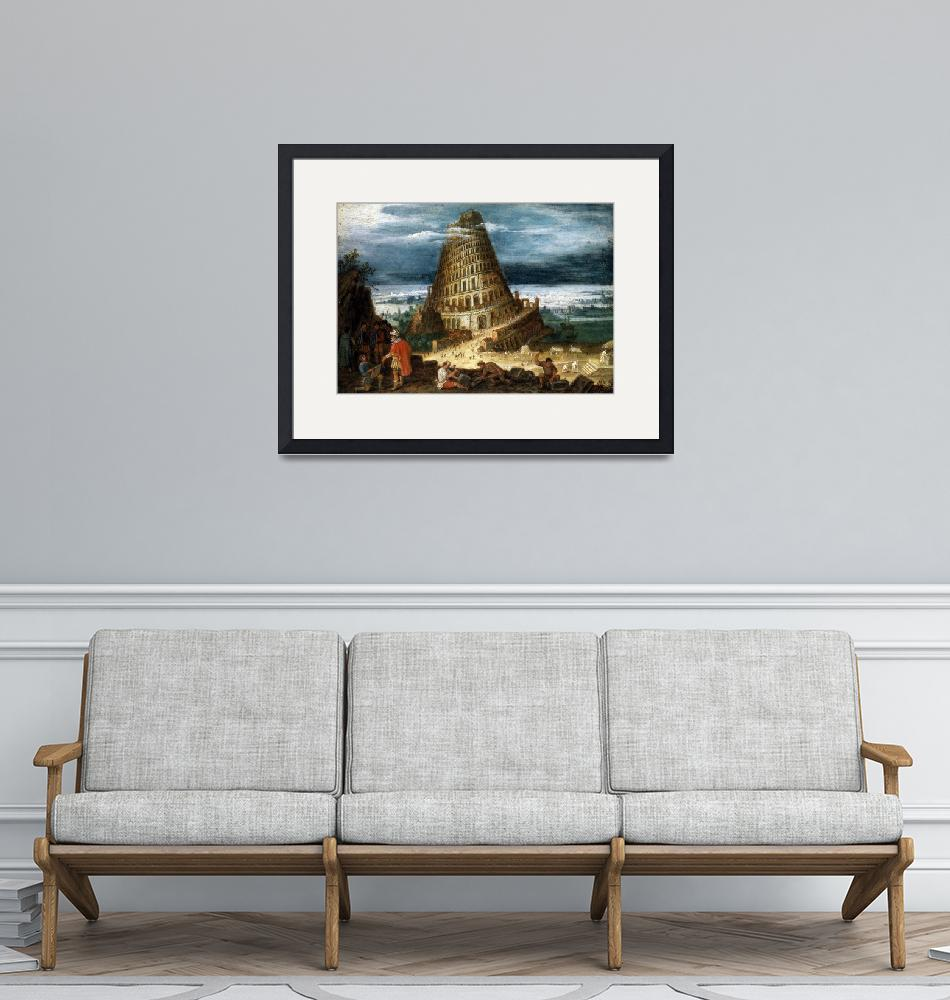 """""""The Tower of Babel""""  by PDGraphics"""