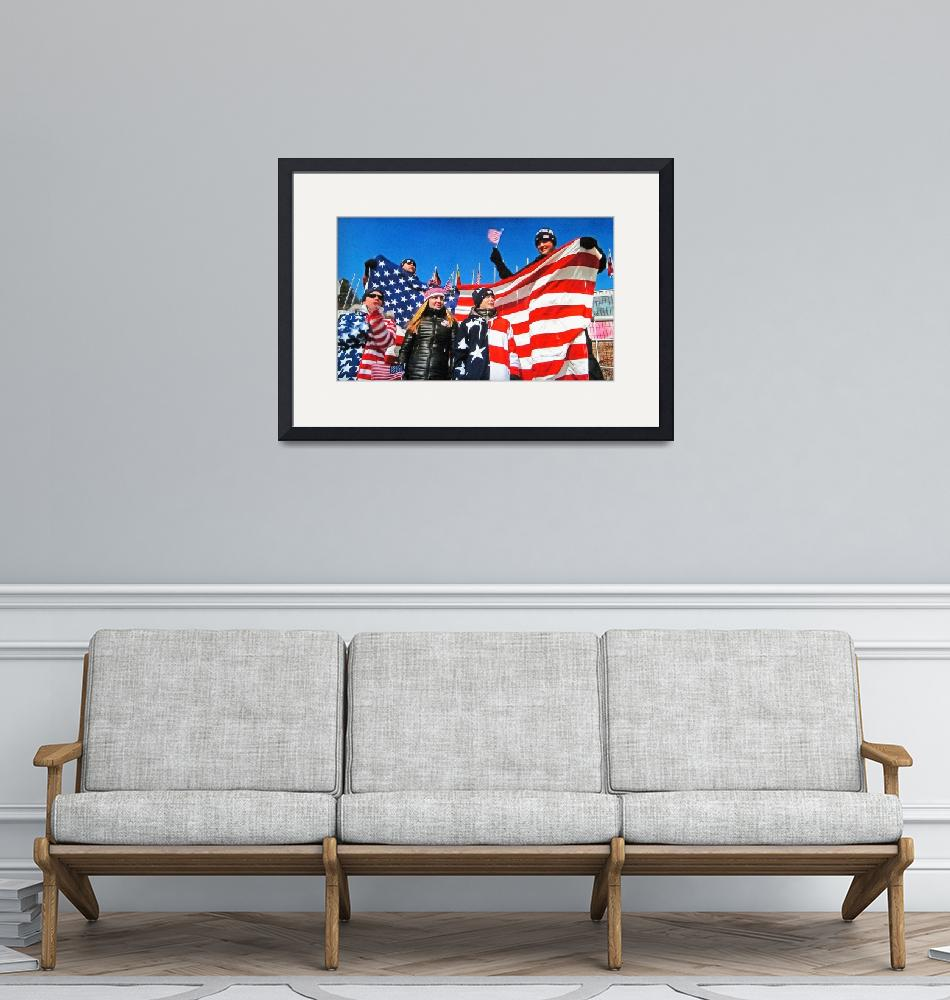"""""""U.S.A. Olympic Supporters""""  by ajc401"""