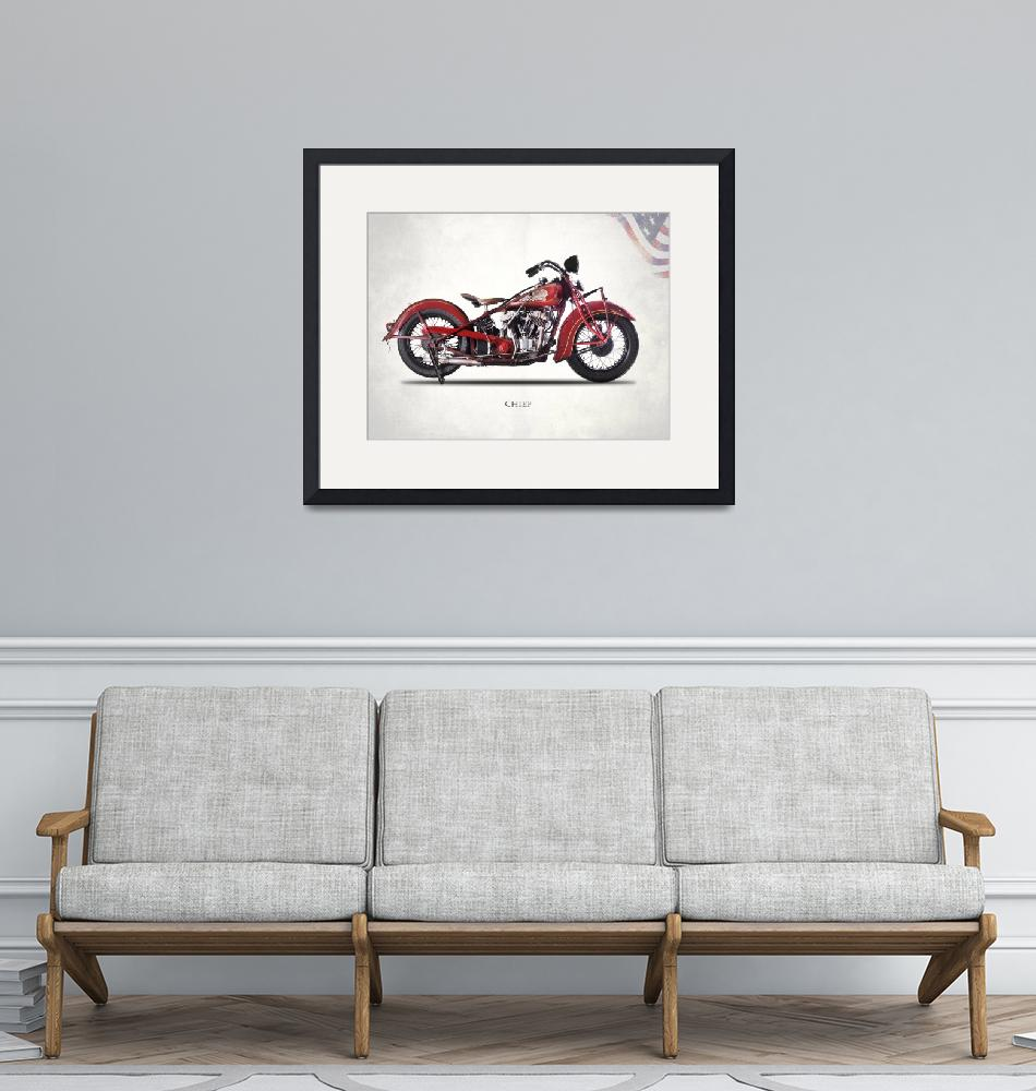"""""""The Vintage Indian Chief"""" by mark-rogan"""