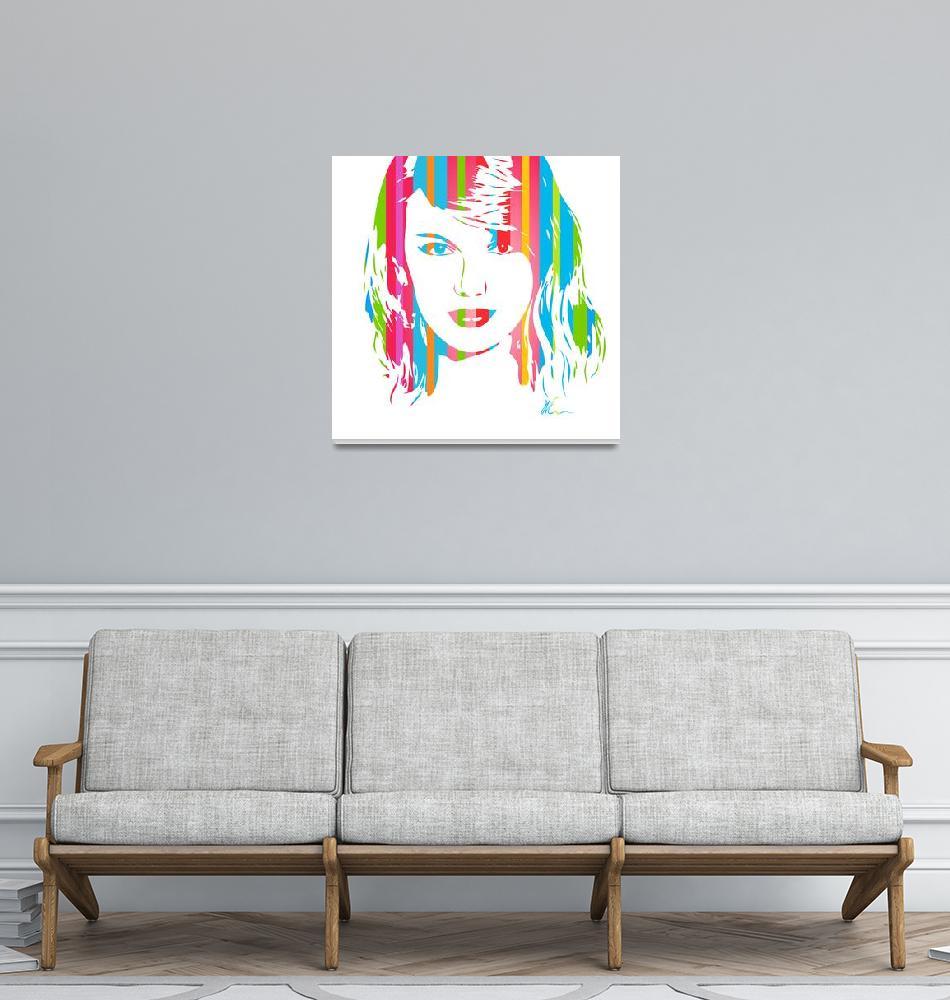 """Taylor Swift | Pop Art""  (2018) by wcsmack"