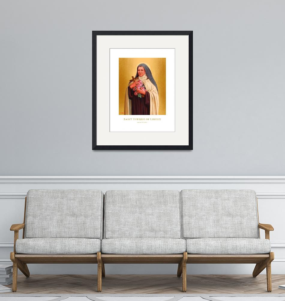 """""""Saint Therese of Lisieux""""  by ChrisPelicano"""
