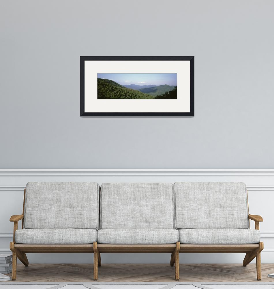 """""""High angle view of a mountain""""  by Panoramic_Images"""