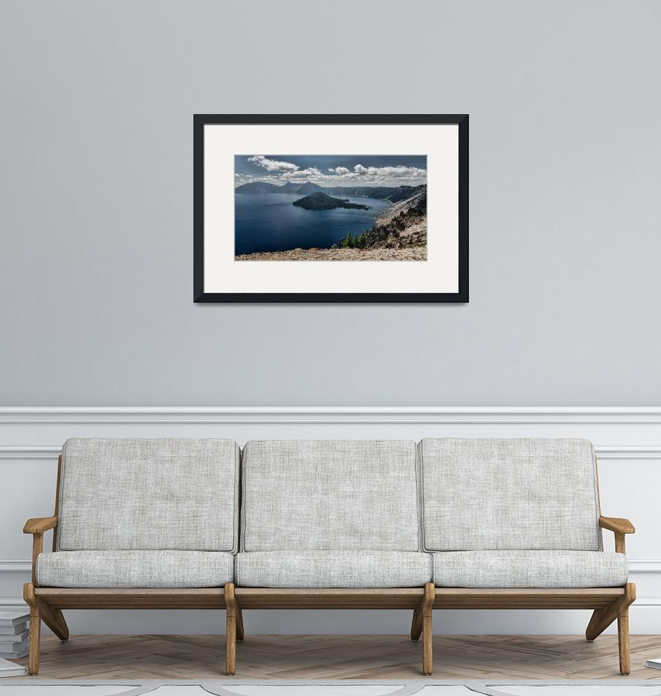 """""""Crater Lake""""  (2014) by boppintheblues"""