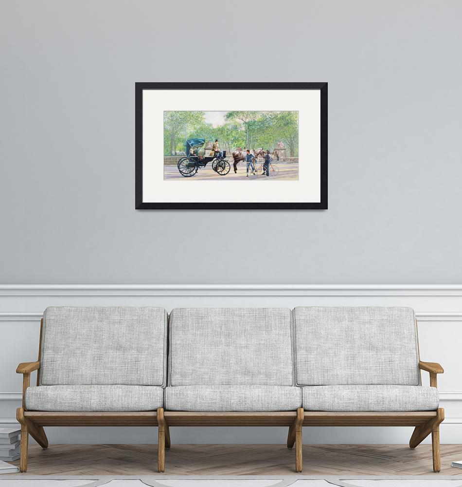 """""""Horse and Carriage""""  by fineartmasters"""