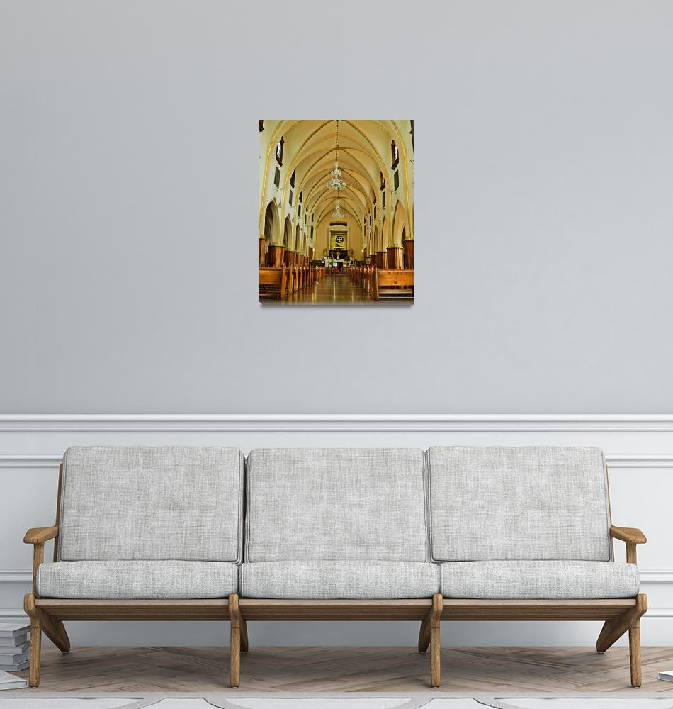 """Church at Monserrate""  (2013) by ske"
