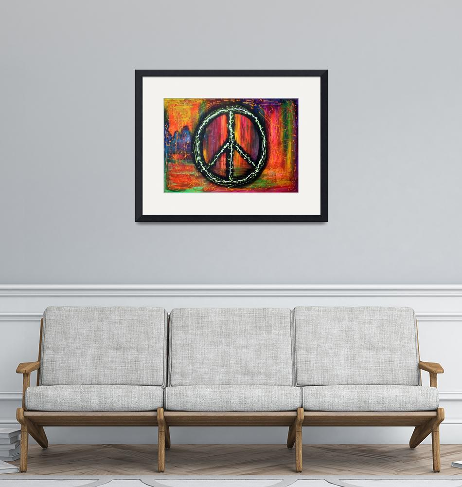"""""""Peace Sign"""" (2009) by ArtPrints"""