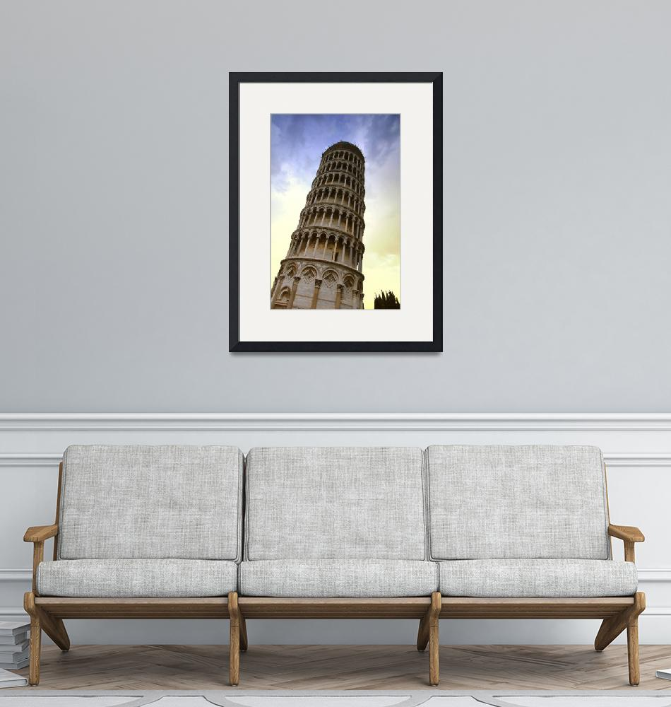 """The Leaning Tower Of Pisa Tuscany Italy"" by DesignPics"