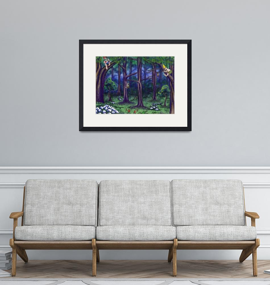 """""""Forest Fellows""""  (2010) by Billifrench"""
