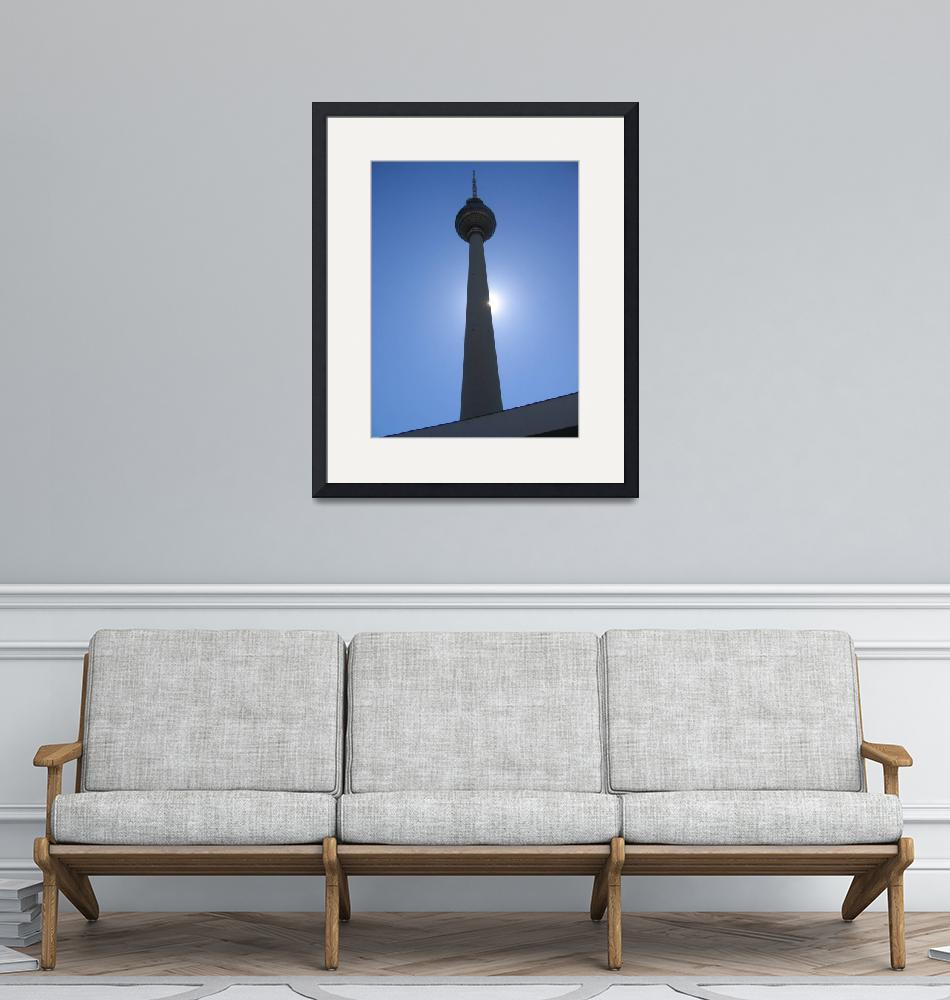 """""""Berlin TV Tower""""  (2004) by magicmoments"""