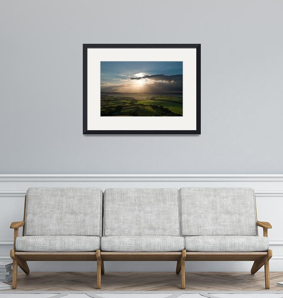 """""""Sunset from Shipton Hill""""  by richard_bovill"""
