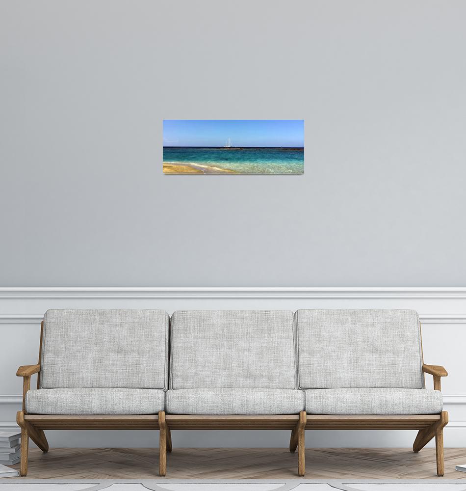 """""""Cyprian Sailboat""""  by Artsart"""