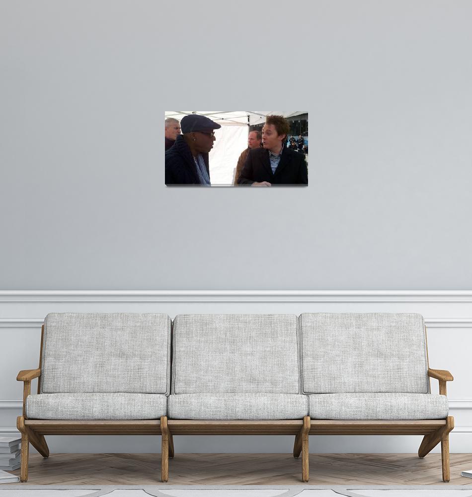 """Asenio Hall & Clay Aiken""  (2011) by robvena"