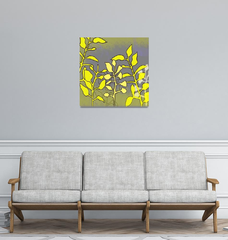 """""""Yellow Leaves""""  (2010) by TuesdayMoon"""