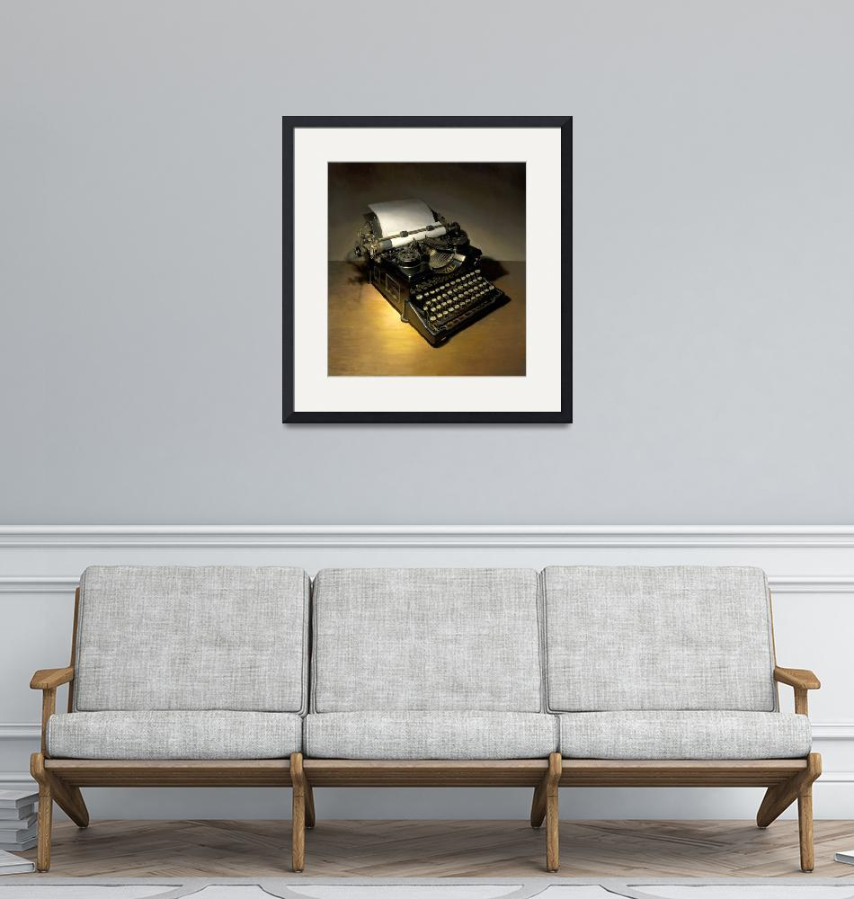 """""""Royal Typewriter""""  (2008) by JonathanQueen"""