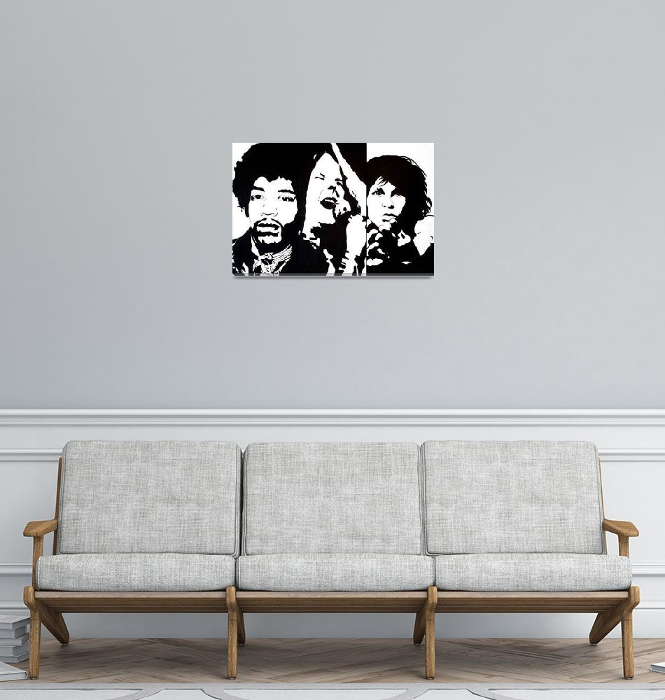 """27 Club""  (2007) by axemangraphics"