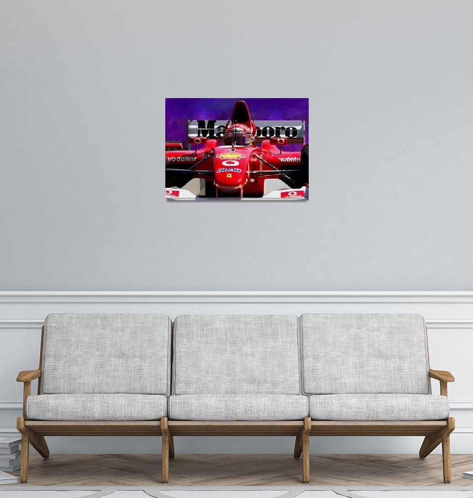 """Ferrari Dominance""  (2014) by Rincon_Art"