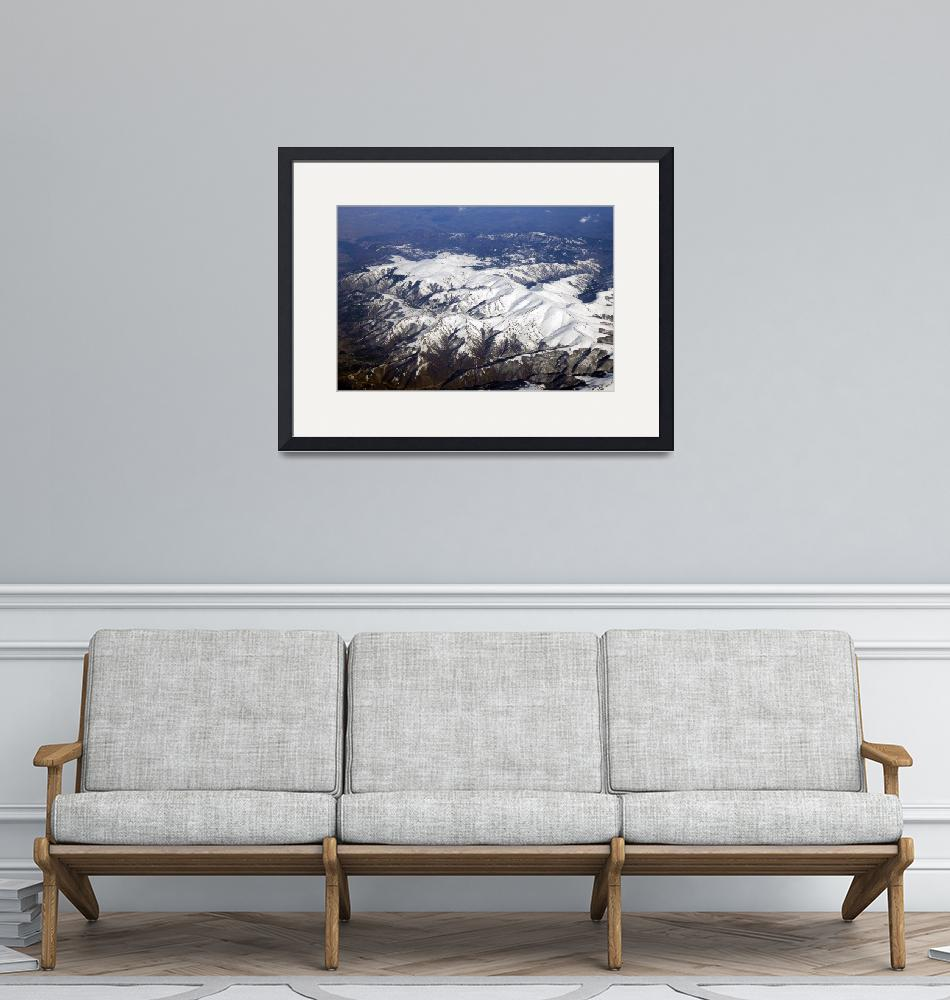 """""""Snow Covered Mountains on the Way to Greece""""  (2005) by JoaoPonces"""