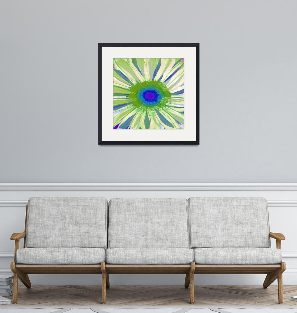 """Gerber Daisy Pop I""  (2009) by rickimountain"