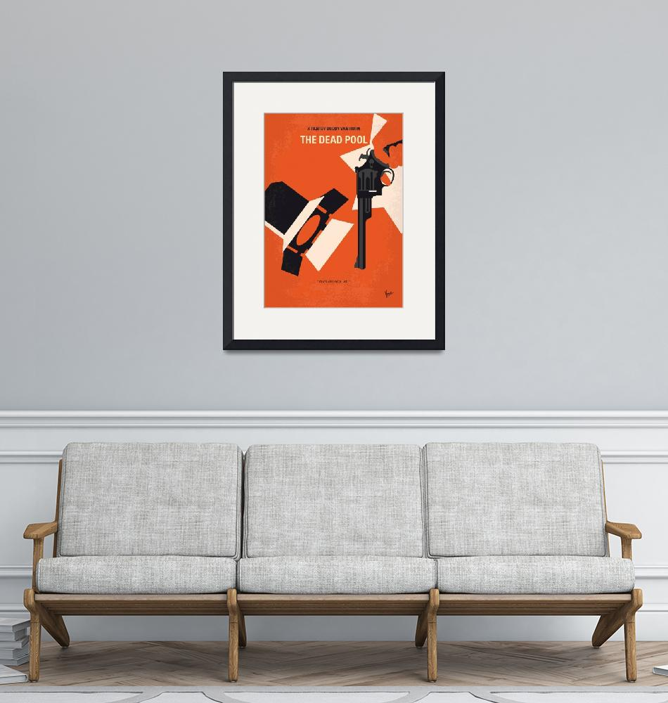 """""""No1267-5 My Dirty Harry The Dead Pool minimal movi"""" by Chungkong"""