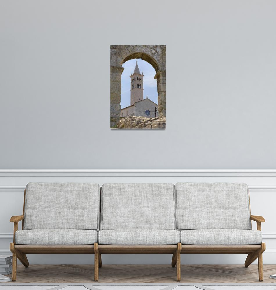 """""""Church of St Anthony in pula""""  (2010) by IanMiddletonphotography"""