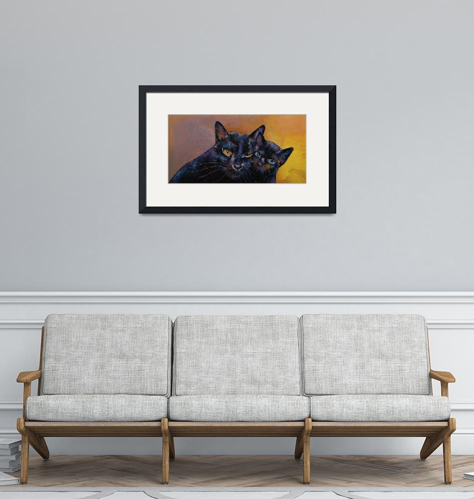 """""""Bombay Cat with Kitten""""  by creese"""