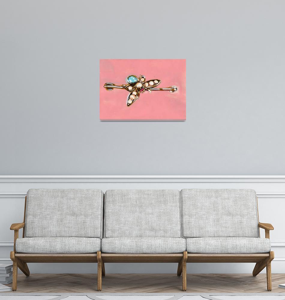 """Beetle Brooch""  (2012) by lisahildebrant"