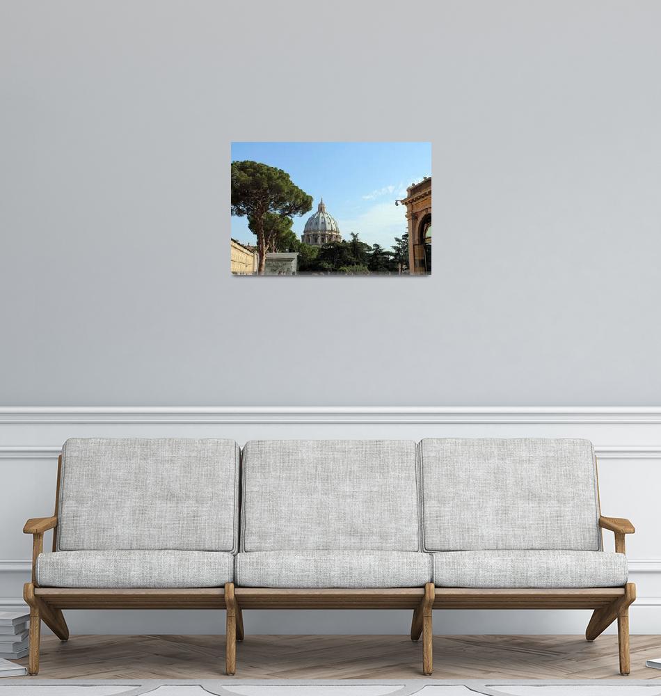 """""""Vatican City Rome Italy""""  by Brett_Rader"""