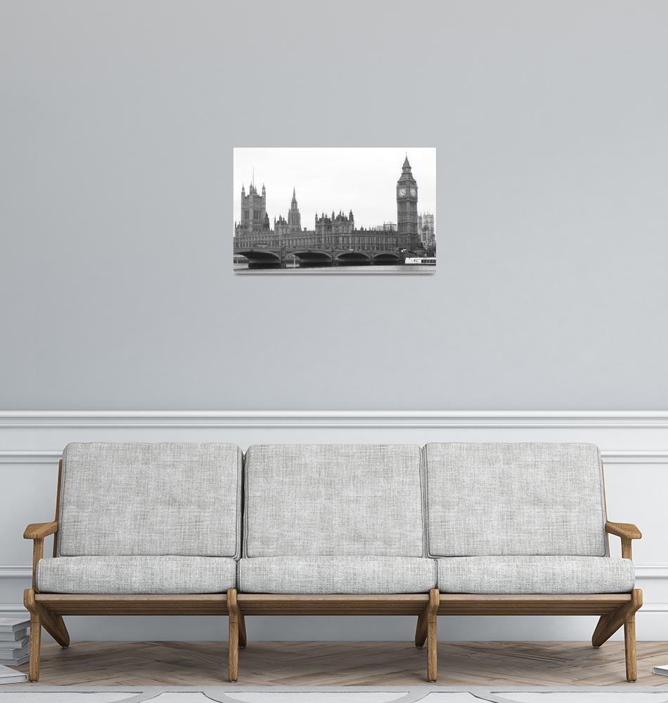 """""""Parliament and Big Ben""""  (2007) by texas31"""