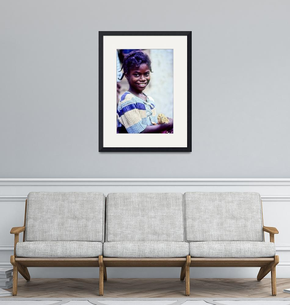 """""""The Merry African Girl""""  (1988) by JoaoPonces"""