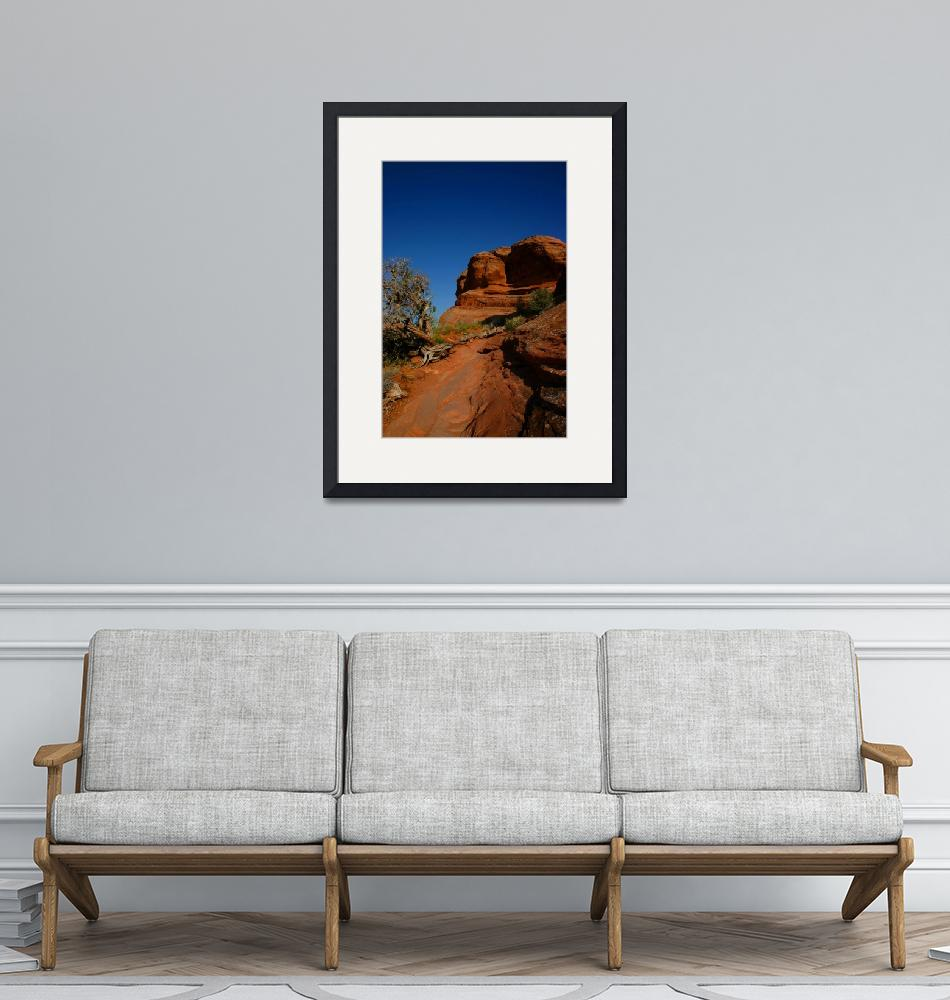 """""""Road to Delicate Arch""""  (2008) by Landscapes"""