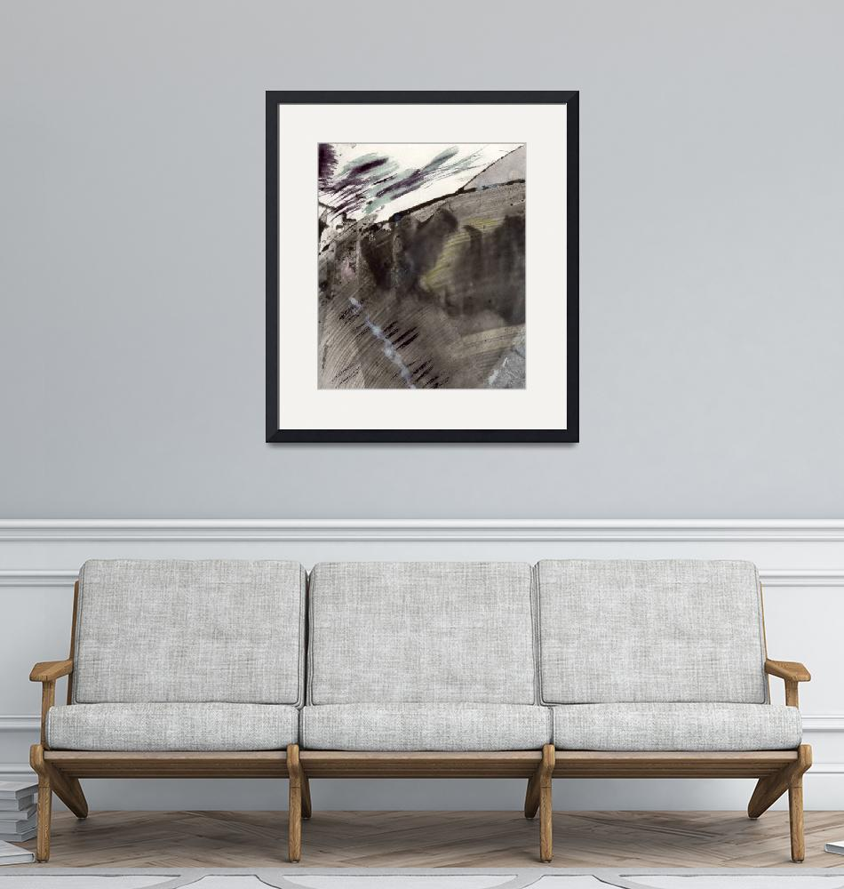 """""""mountain stream siskind kline abstract expression""""  (2011) by jnanian"""