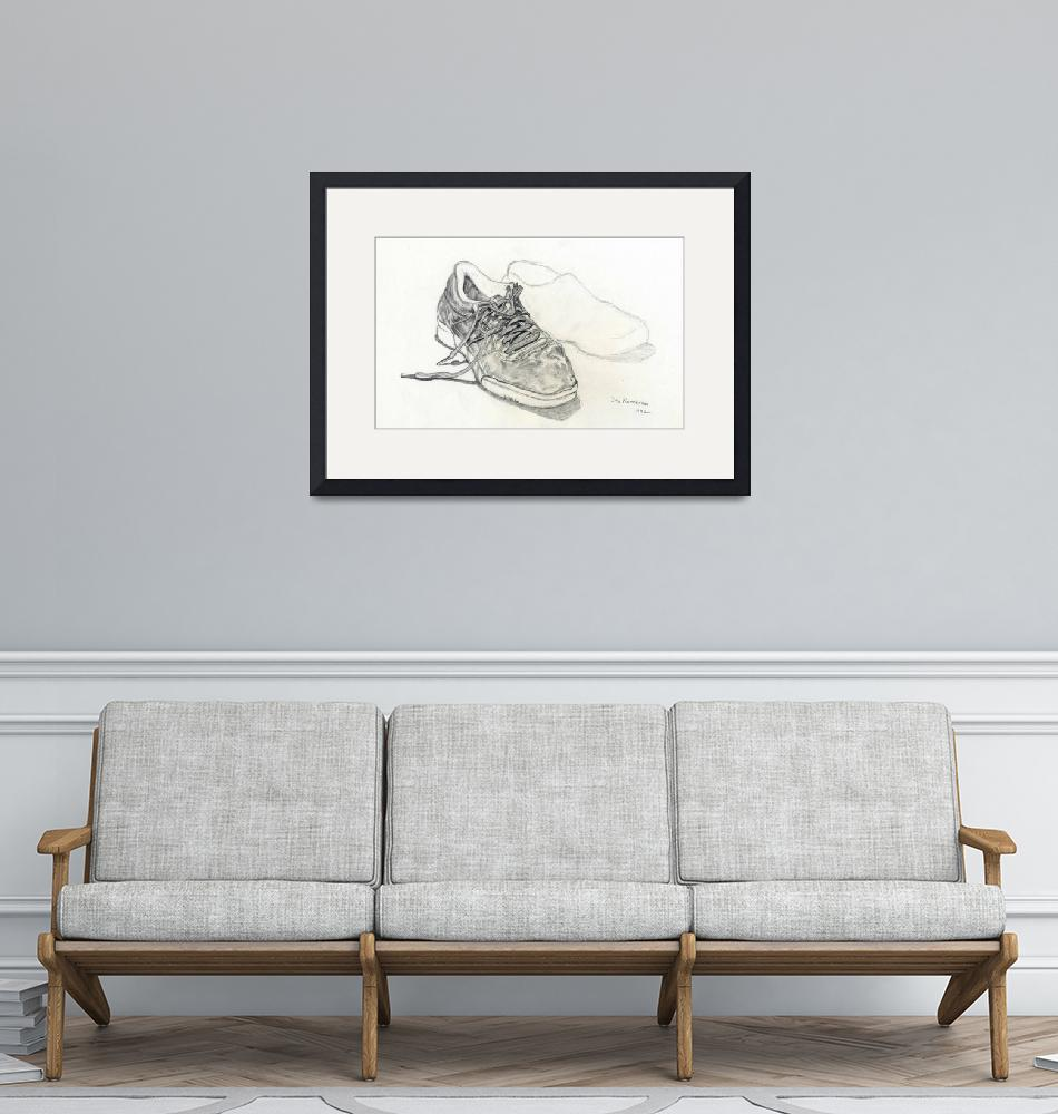"""""""Sneakers""""  (1992) by Pencil-On-Paper"""