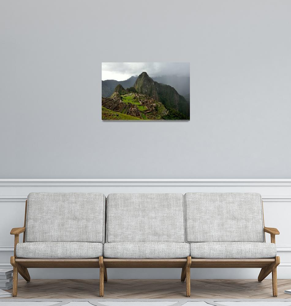 """""""Machu Picchu""""  (2010) by Sawrah"""