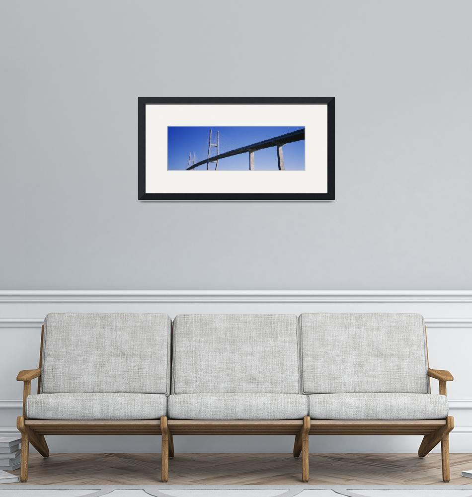 """""""Low angle view of a bridge""""  by Panoramic_Images"""