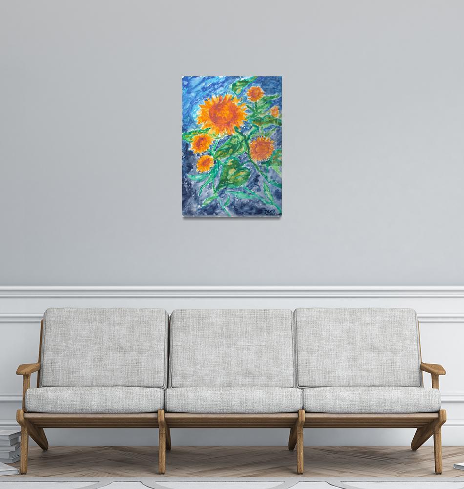 """""""sunflowers""""  (2001) by derekmccrea"""