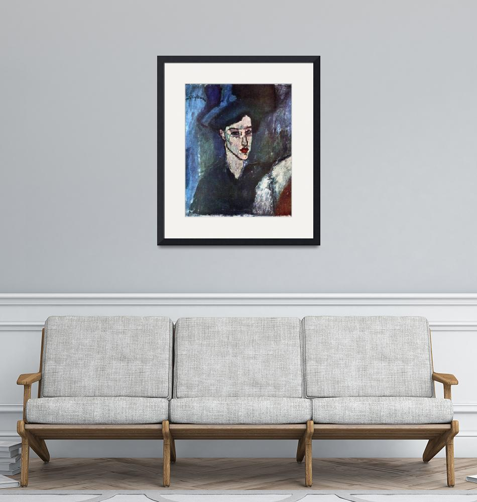 """""""Amedeo Clemente Modigliani Painting 13""""  by ArtLoversOnline"""