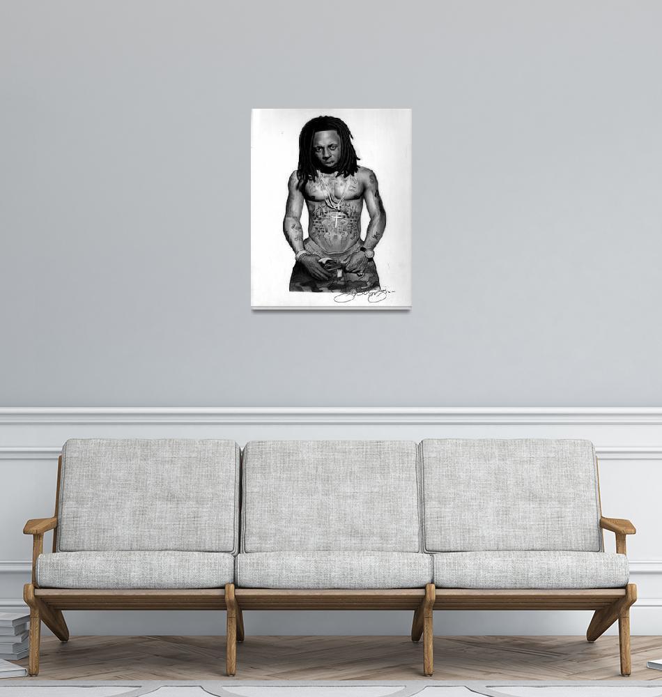 """Lil Wayne""  by jerrylavignejr"
