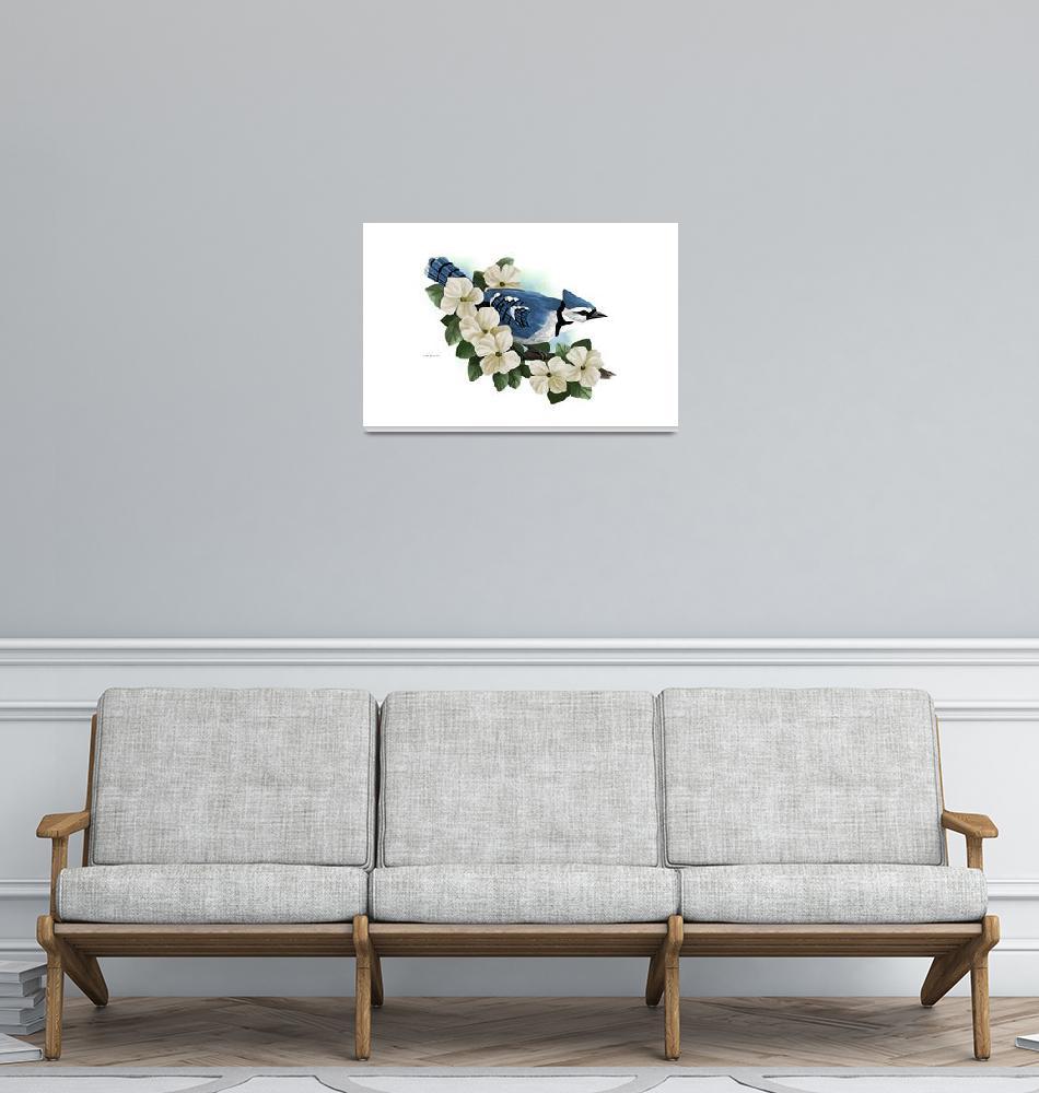"""""""Blue Jay""""  by waterart"""
