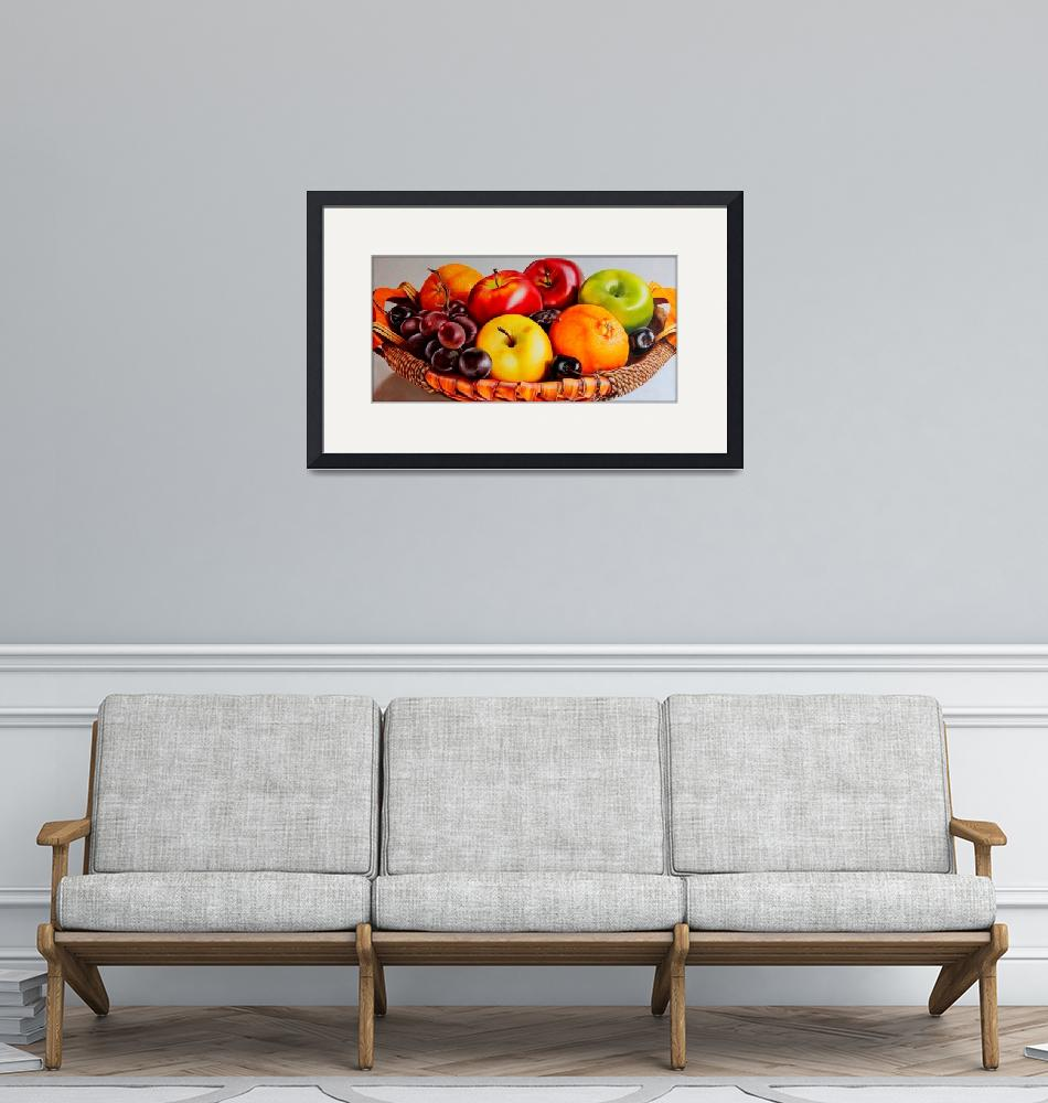 """fruit basket""  (2014) by pixelez"