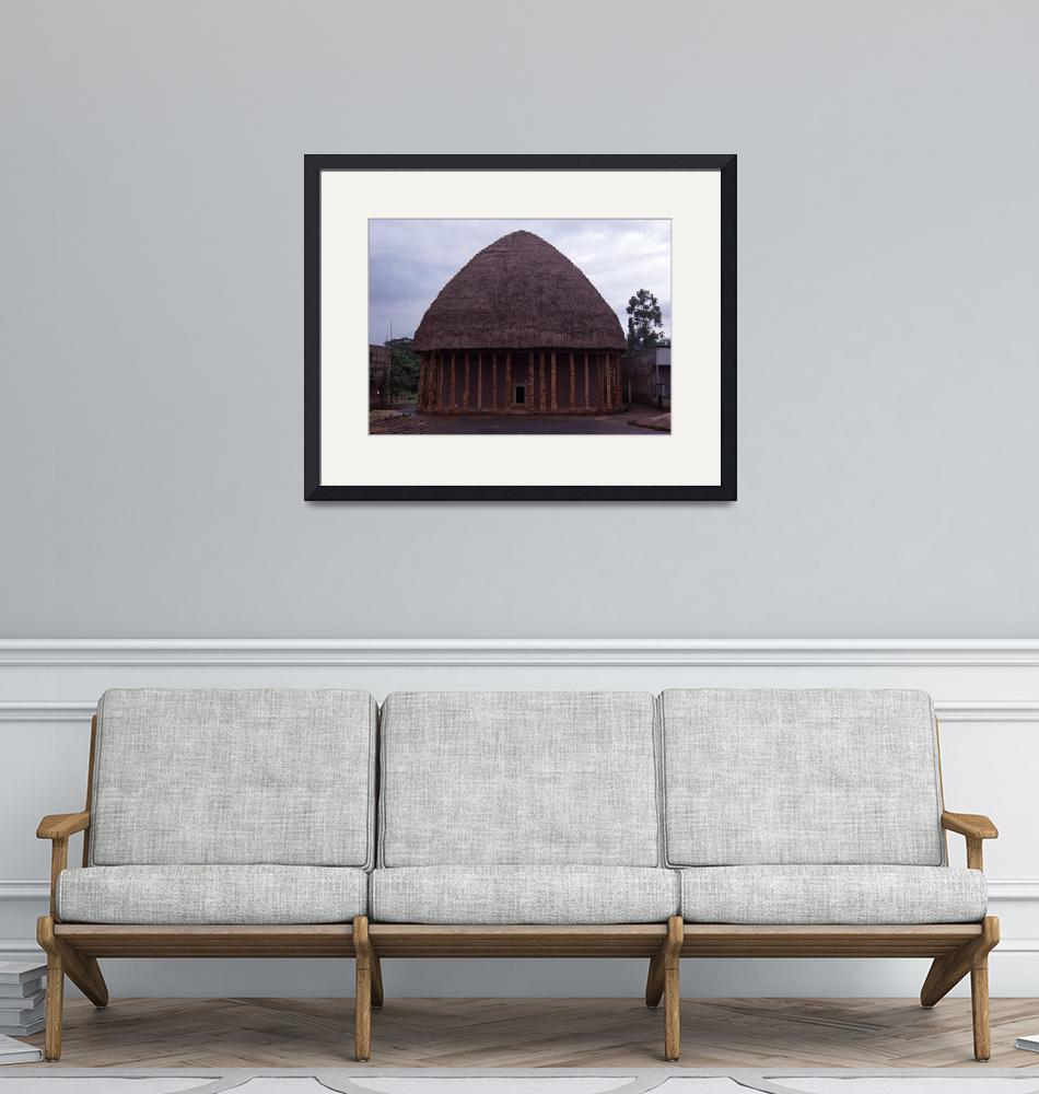 """Council Meeting Place in Bandjoun, Cameroon""  by jaredjared"