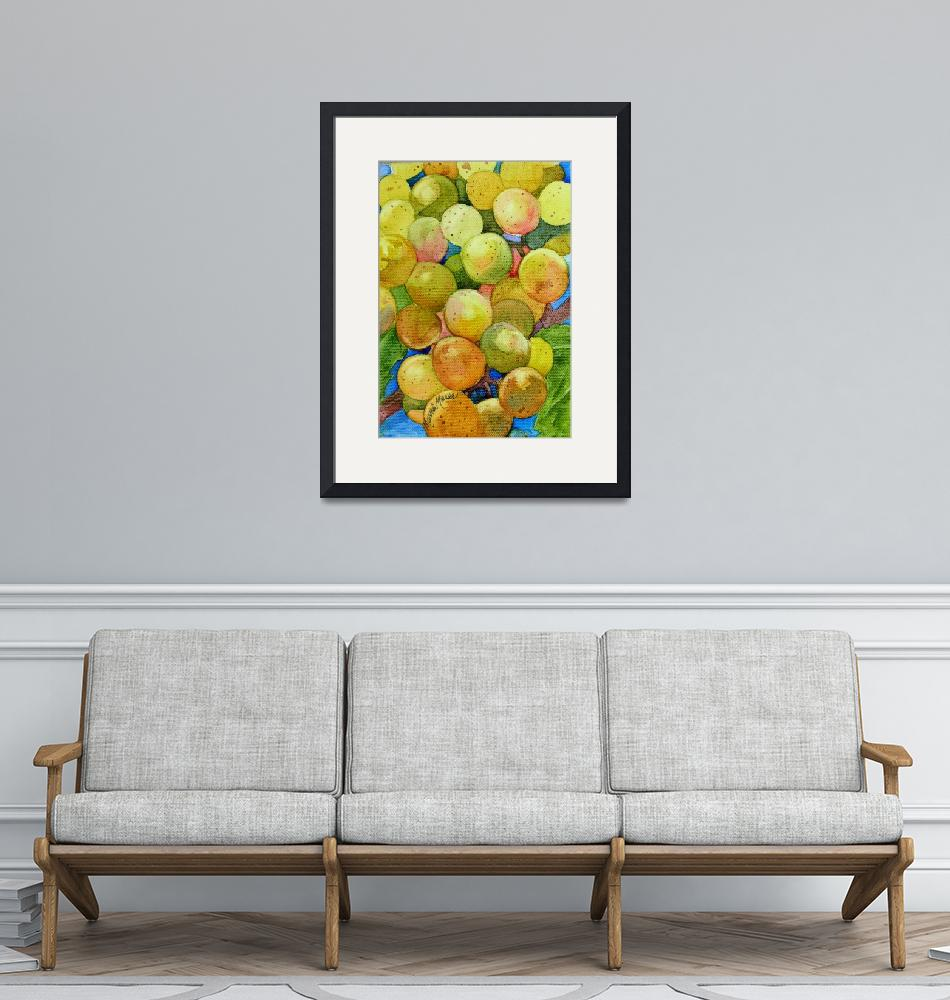 """""""Glowing Grapes"""" (2006) by MarniMaree"""