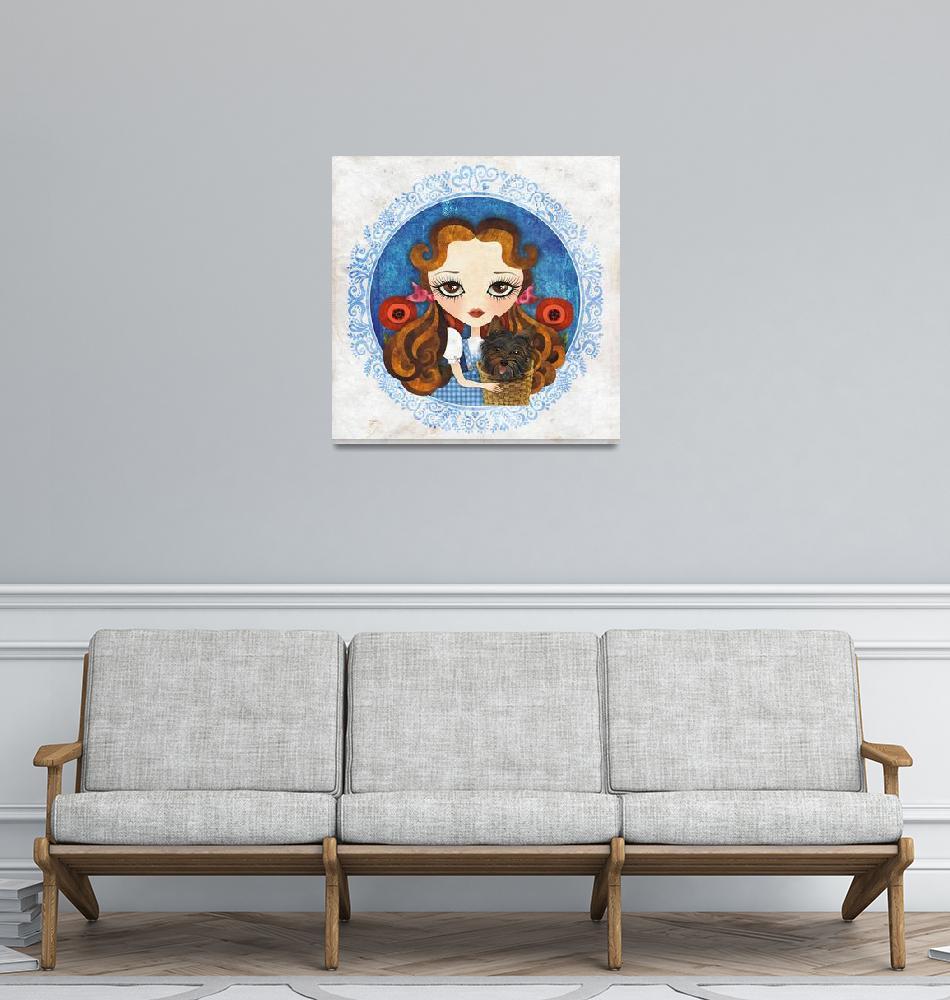 """""""Dorothy""""  (2011) by sandygrafik_arts"""