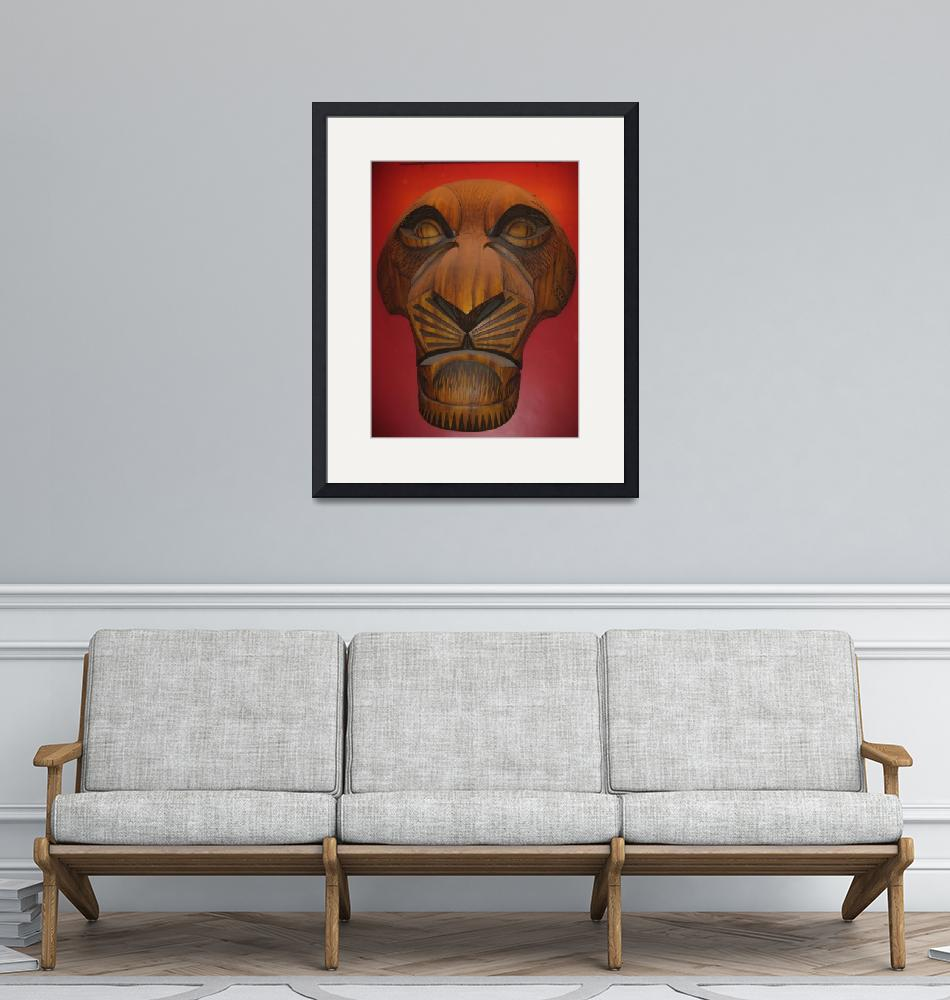 """""""Lion King Mask""""  (2010) by rnh82"""