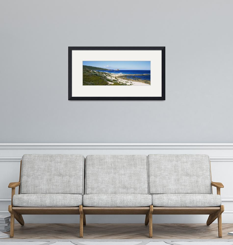"""""""Blue sky over a coastline""""  by Panoramic_Images"""